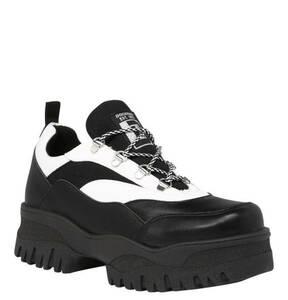 Dockers by Gerli             XL-Sneaker, Synthetik, zweifarbig, Schnürung