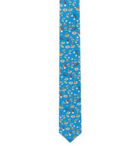 Prince BOWTIE             Krawatte, Blumen-Print, Seide