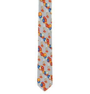 Prince BOWTIE             Krawatte, Allover-Print, Seide