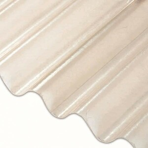guttagliss Polyesterwellplatte glatt ,  sinus 76/18,  1500 x 900 mm
