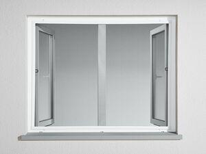 POWERFIX® Alu-Insektenschutzfenster, 130 x 150 cm
