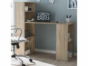 Wohnling Schreibtisch Regalkombination PC Tisch Bürotisch Ablage Computertisch