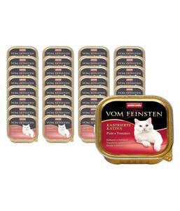animonda Nassfutter Vom Feinsten für kastrierte Katzen, 32 x 100g