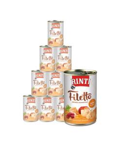 Rinti Filetto in Jelly, Nassfutter, 12 x 420g