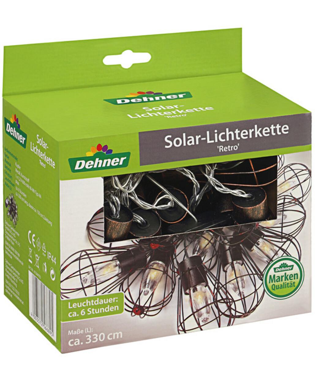 Bild 4 von Dehner Solar-Lichterkette 'Retro'
