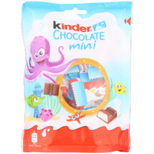 Kinder Schokolade Minis