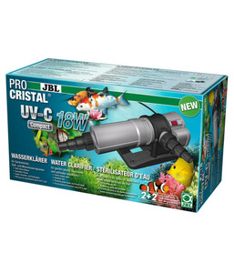 JBL PRO CRISTAL® Wasserklärer UV-C Compact, 18 Watt