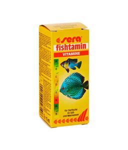 sera fishtamin Vitamine für Fische, 15 ml
