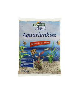 Dehner Aqua Aquarienkies, 5-8 mm, beige