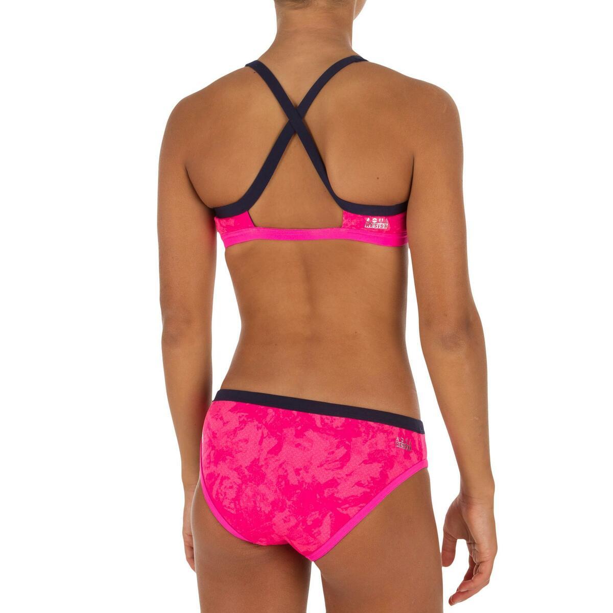 Bild 4 von Sportbikini Hose Jade Walo chlorresistent Mädchen pink