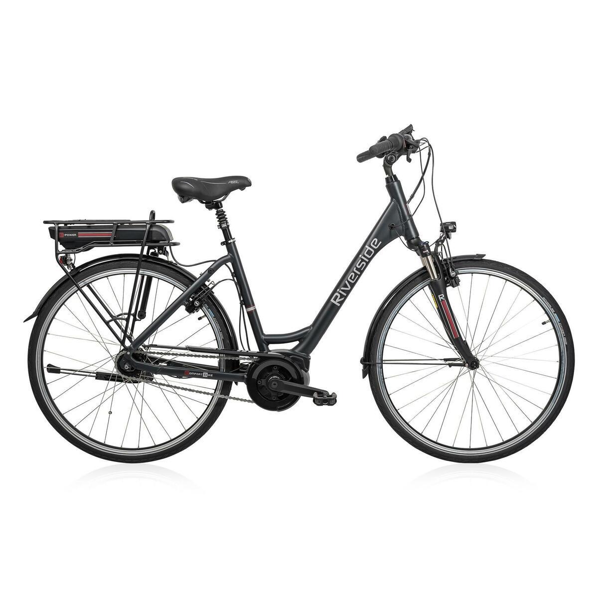 Bild 1 von E-Bike 28 Riverside City Nexus 8 Active Plus 400 Wh Rücktritt anthtrazit