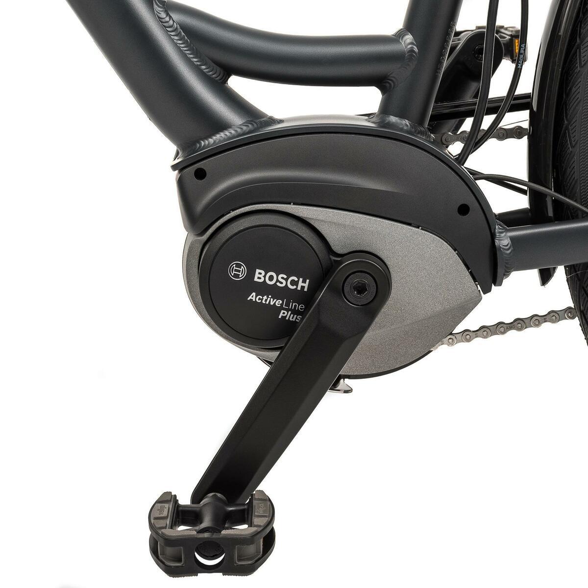Bild 2 von E-Bike 28 Riverside City Nexus 8 Active Plus 400 Wh Rücktritt anthtrazit
