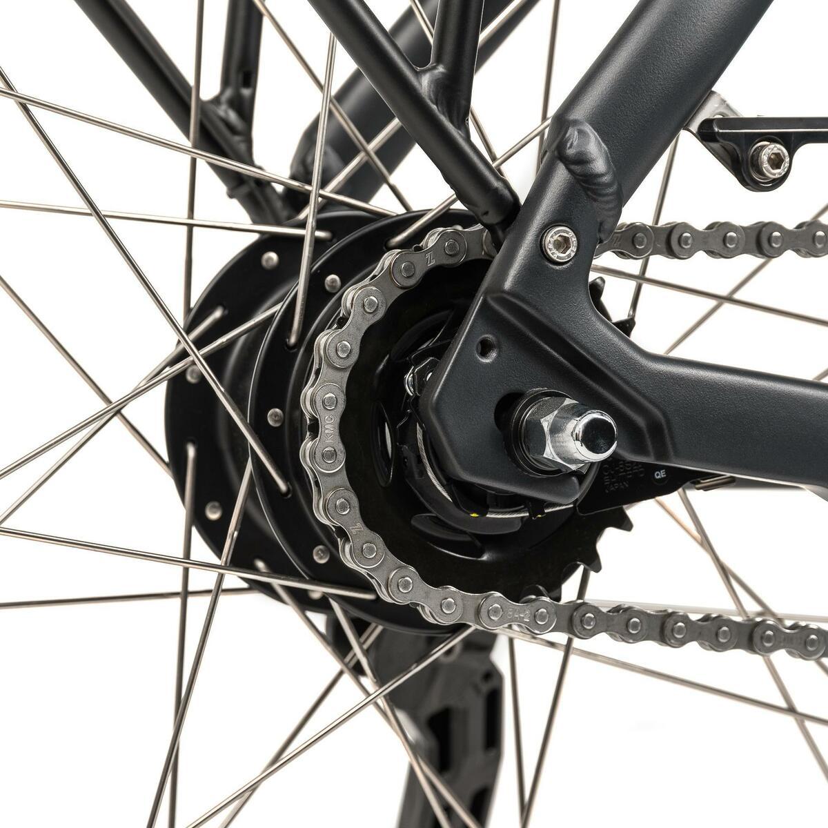 Bild 4 von E-Bike 28 Riverside City Nexus 8 Active Plus 400 Wh Rücktritt anthtrazit