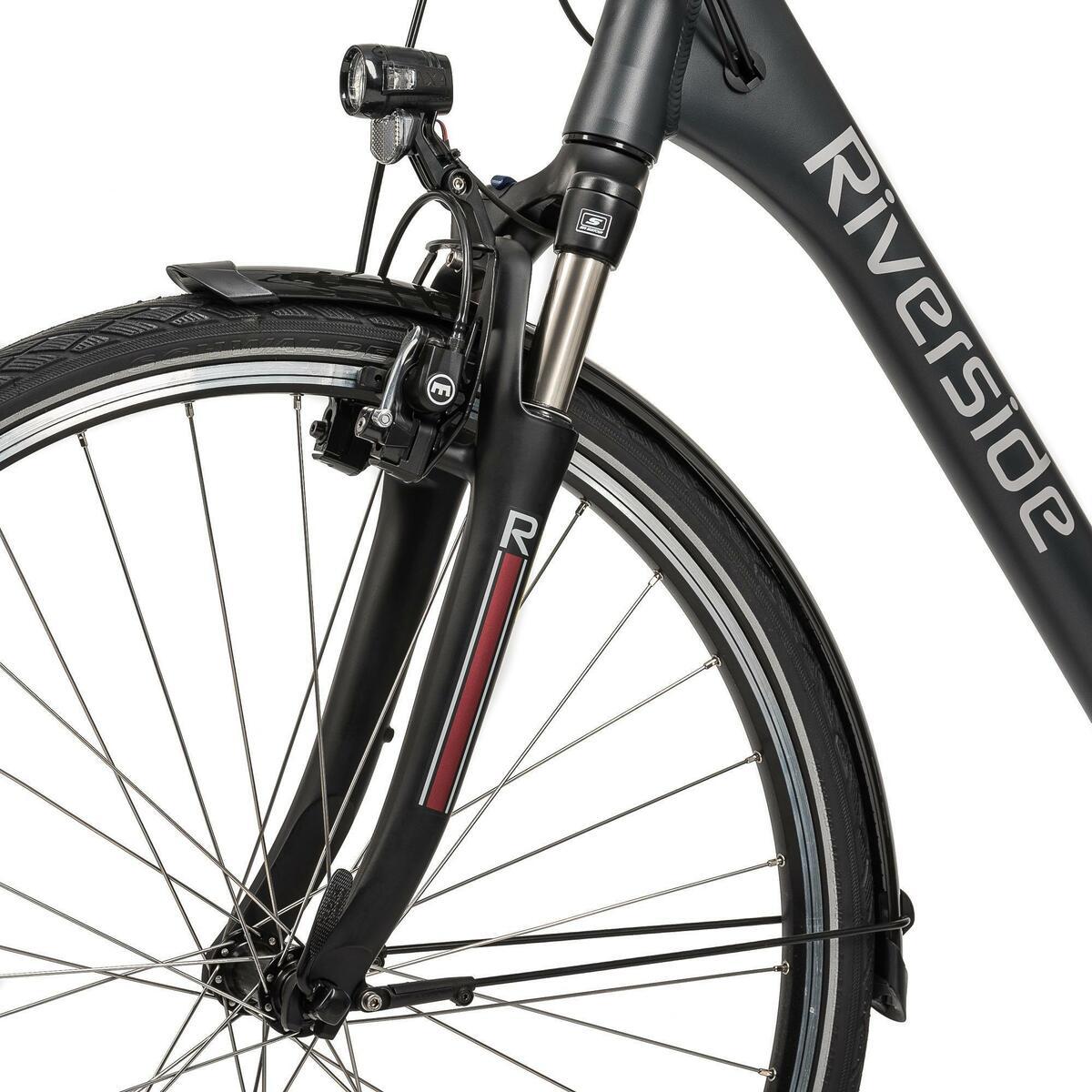 Bild 5 von E-Bike 28 Riverside City Nexus 8 Active Plus 400 Wh Rücktritt anthtrazit