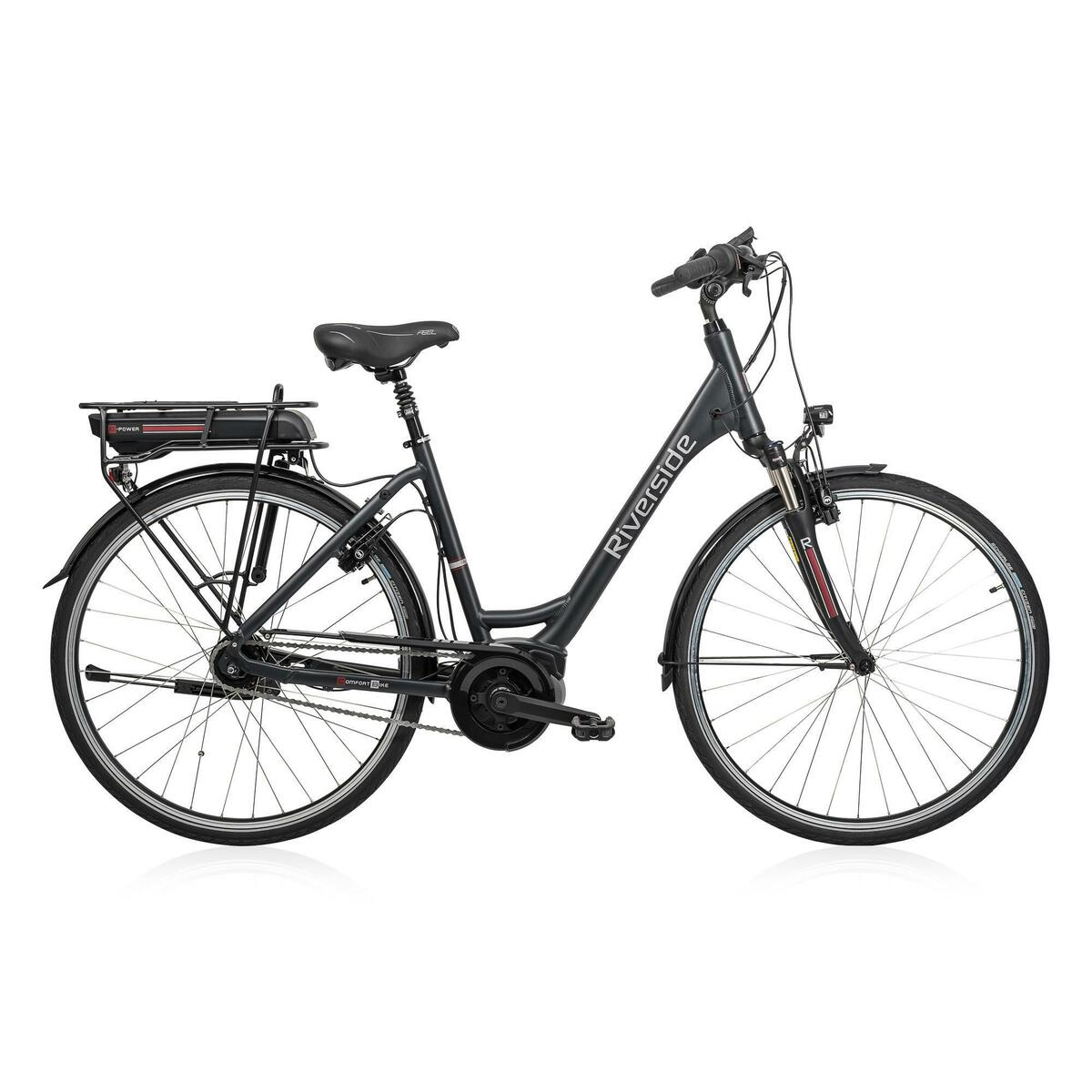 Bild 1 von E-Bike 28 Riverside City Nexus 8 Active Plus 400 Wh Freilauf
