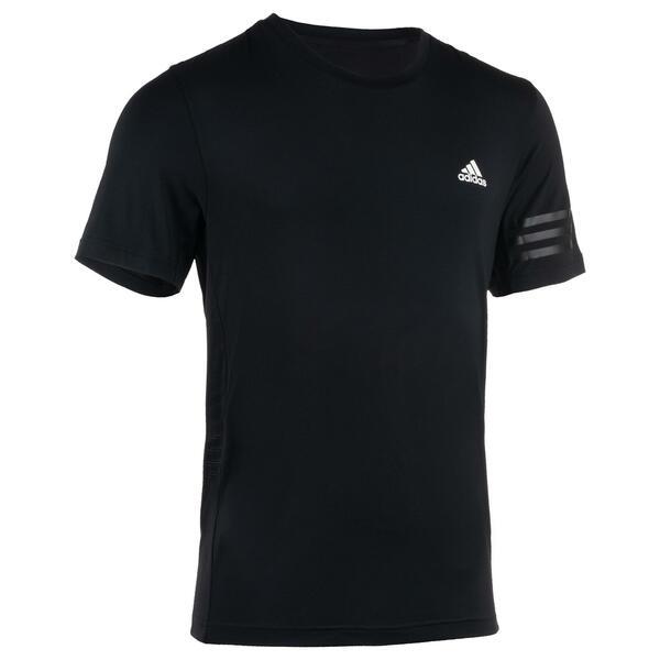 T-Shirt Fitness Cardio Herren schwarz