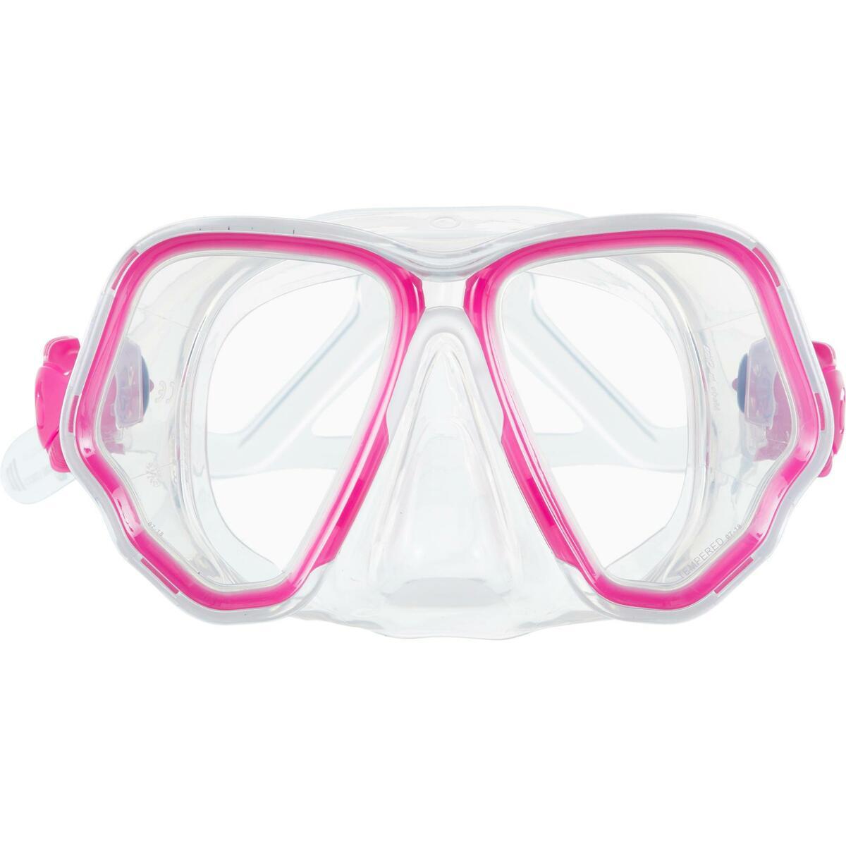 Bild 3 von Tauchmaske SCD 500 für Gerätetauchen cristal/rosa Zweiglas/Bi-Glas Tauchermaske