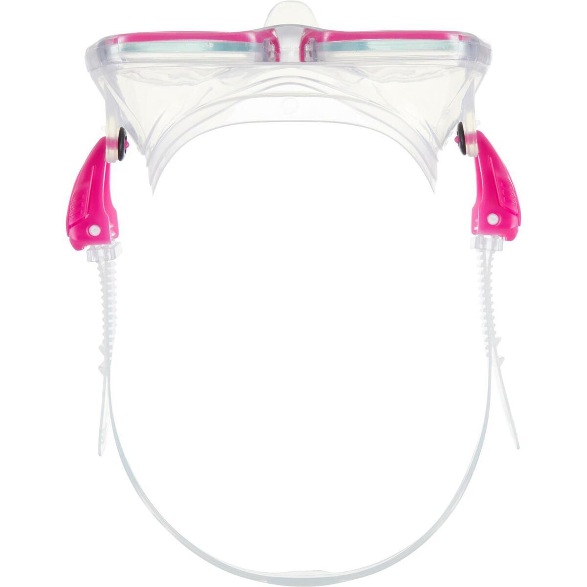 Bild 5 von Tauchmaske SCD 500 für Gerätetauchen cristal/rosa Zweiglas/Bi-Glas Tauchermaske