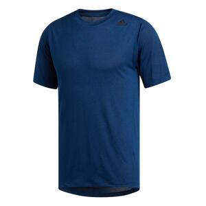 T-Shirt Fitness Cardio Herren blau