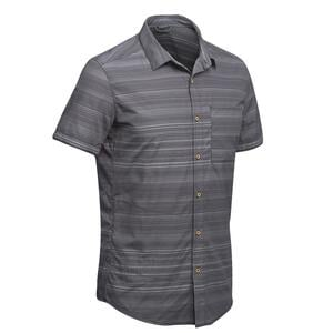 Hemd Travel 100 Fresh Herren grau