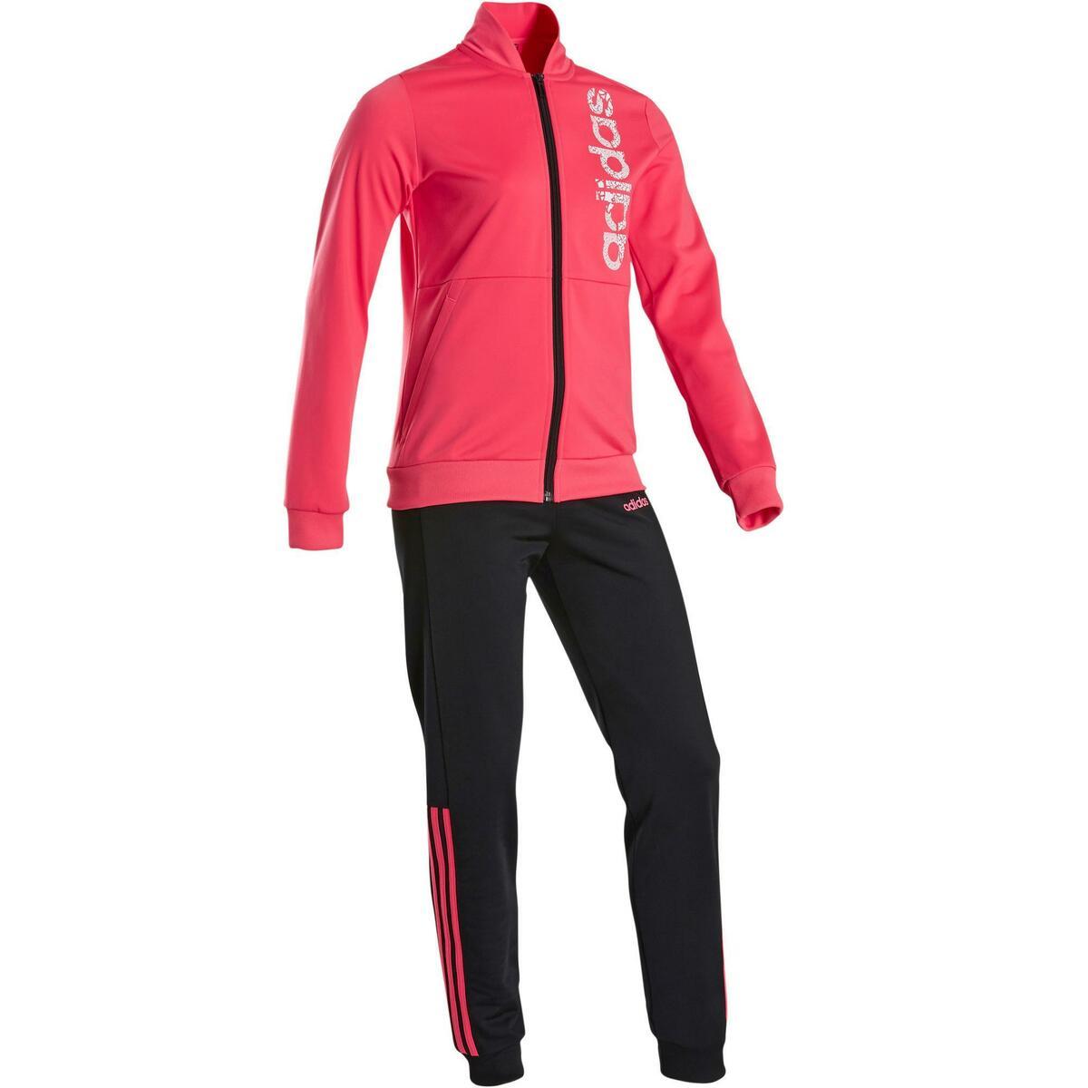 Bild 1 von Trainingsanzug Logo auf der Brust Kinder rosa