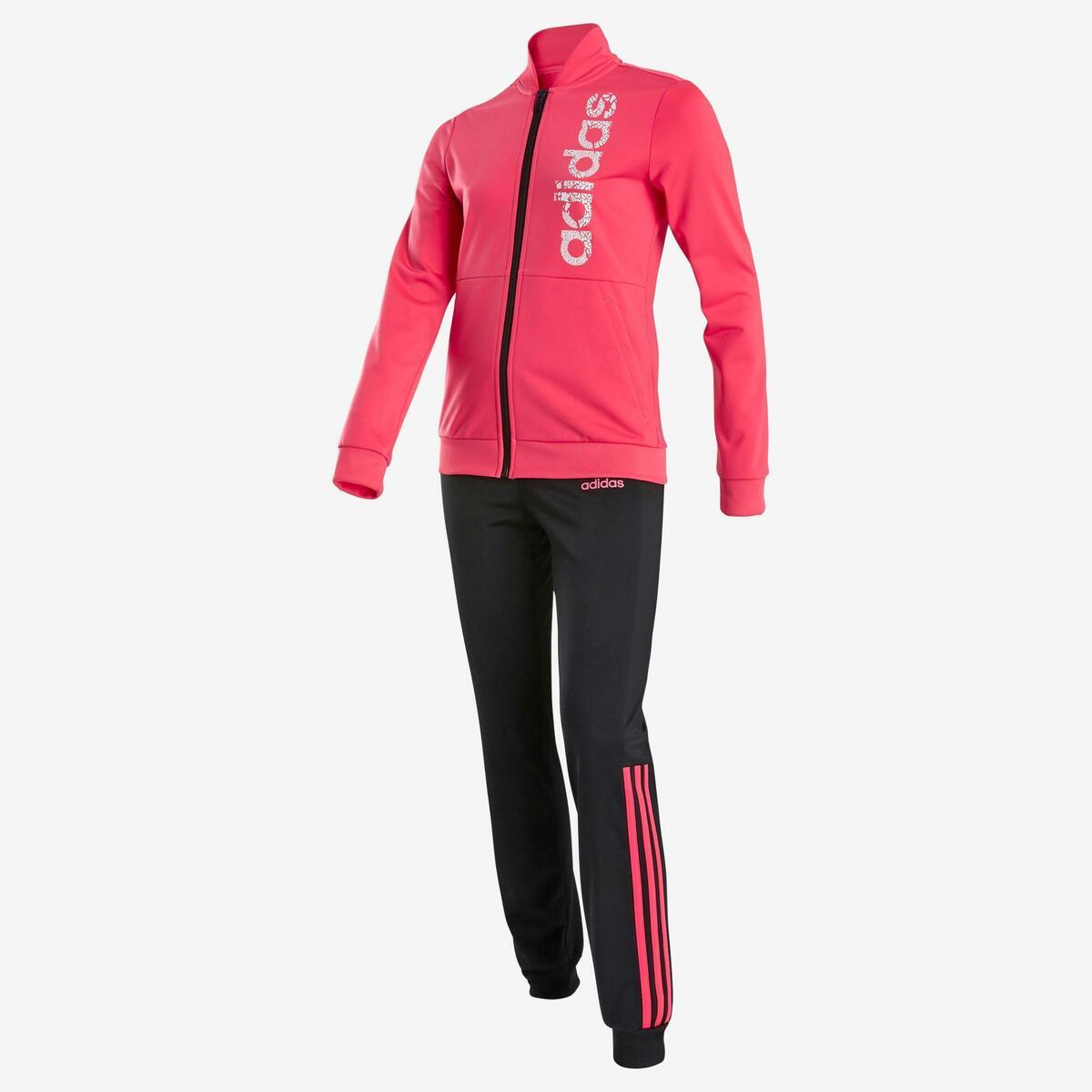 Bild 2 von Trainingsanzug Logo auf der Brust Kinder rosa