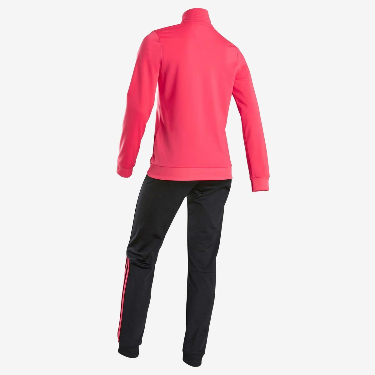 Bild 3 von Trainingsanzug Logo auf der Brust Kinder rosa