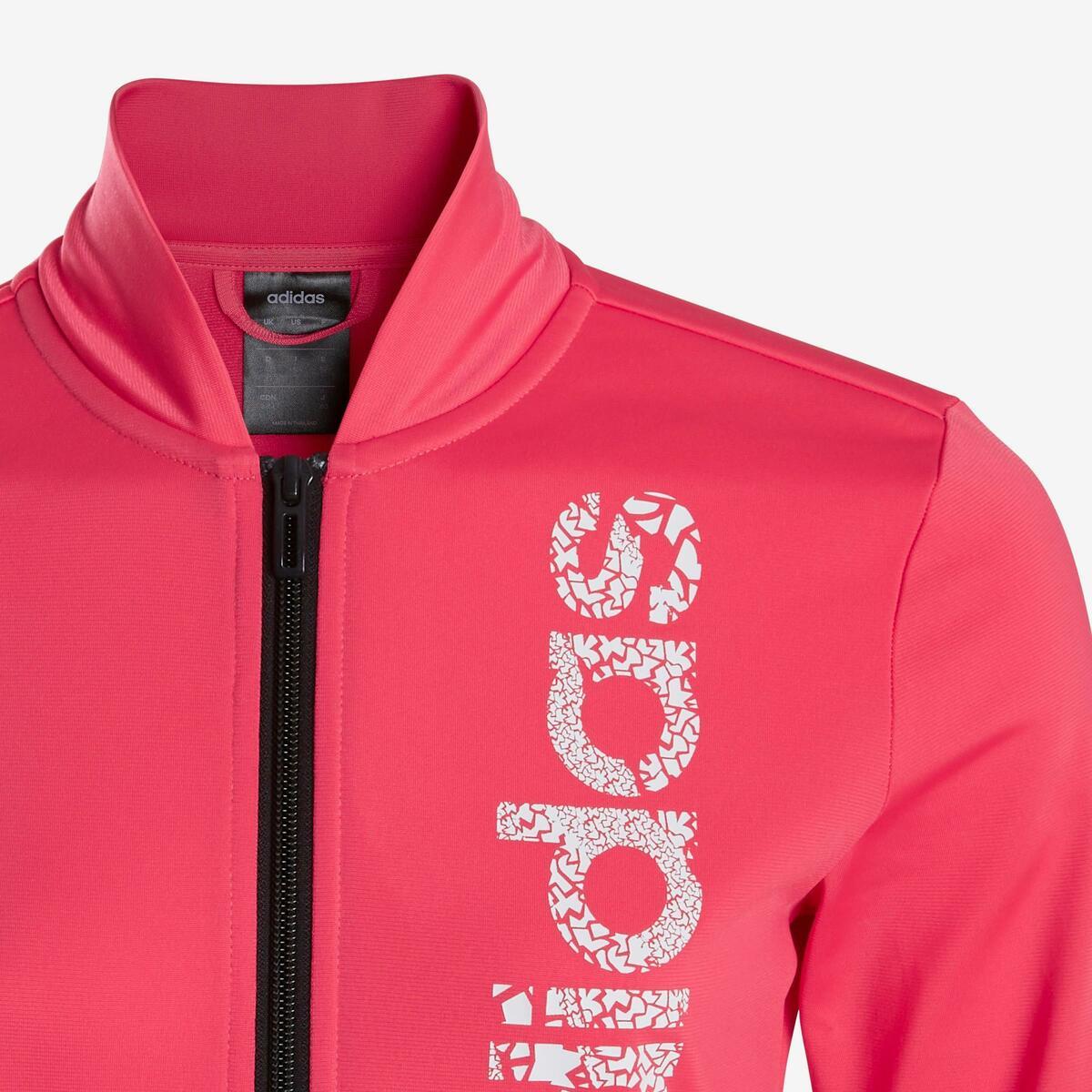 Bild 5 von Trainingsanzug Logo auf der Brust Kinder rosa