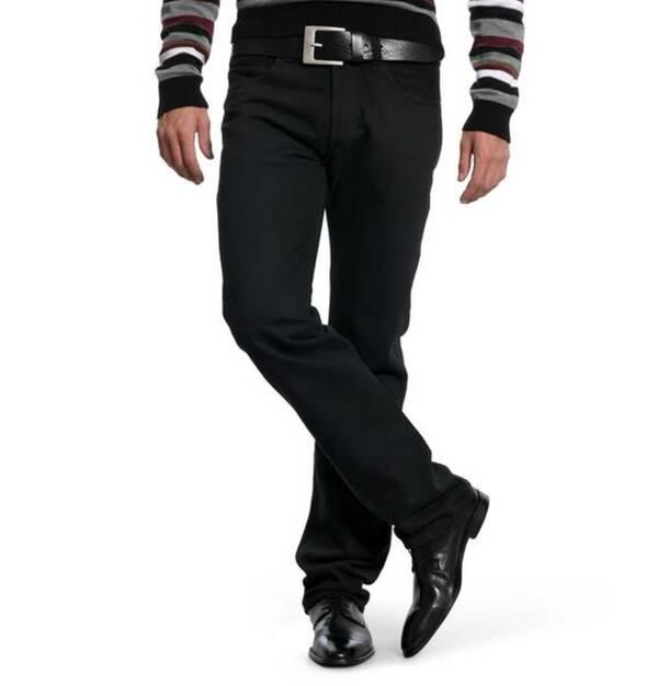 """Levi´s             Jeans """"501"""", gleichmäßige Waschung, Nieten, 5-Pocket-Stil, Baumwolle"""