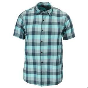 Icebreaker DEPARTURE II S/S SHIRT PLAID Männer - Outdoor Hemd
