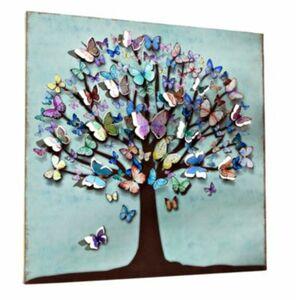 """LED-Wandbild """"Schmetterlingsbaum"""""""