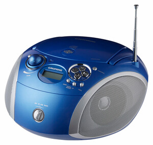 Grundig CD-Player GDP6420, blau