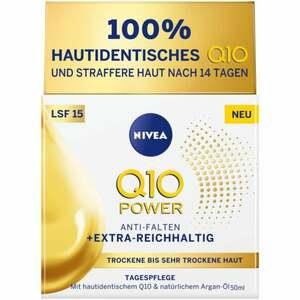 NIVEA Q10 Power Anti-Falten + Extra -Reichhaltig Tage 19.98 EUR/100 ml
