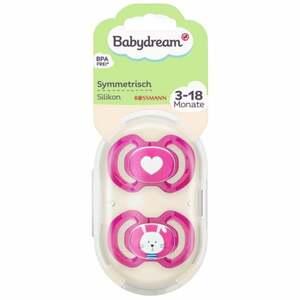 Babydream BS symmetrisch Silikon 3-18 Monate Herz/Hase