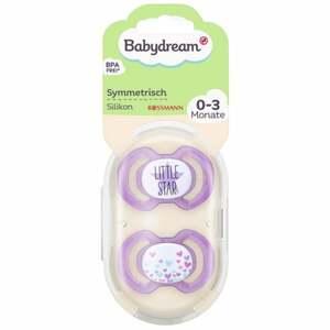 Babydream BS symmetrisch Silikon 0-3 Monate Little Star/Sterne