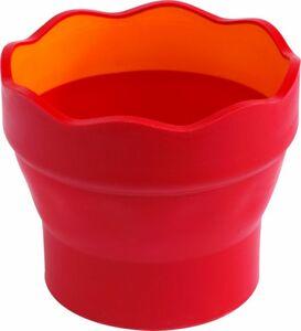 Wasserbecher CLIC & GO - rot oder brombeere - 1 Stück