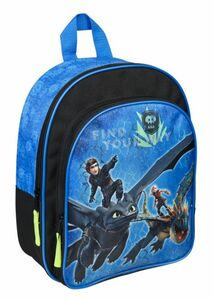 Dragons - Kinderrucksack - blau