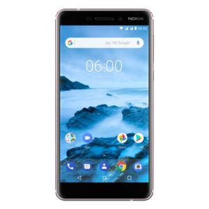 Nokia 6.1 (2018) Dual-SIM 32GB white Android 8.0 Smartphone