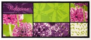 Bella Casa XL-Designläufer, ca. 80 x 190 cm, Multi Welcome Allium