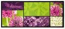 Bild 1 von Bella Casa XL-Designläufer, ca. 80 x 190 cm, Multi Welcome Allium