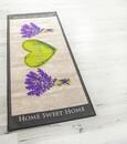 Bild 1 von Bella Casa XL-Designläufer, ca. 80 x 190 cm, Lavendel Herz/Home beige/lila