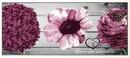 Bild 1 von Bella Casa XL-Designläufer, ca. 80 x 190 cm, Berry / Home is where your heart is