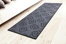 Bild 1 von Bella Casa 3D-Druck-Teppichläufer Relief Anthrazit