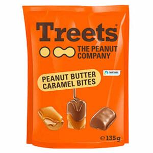 Treets Peanut Butter Bites jeder 135-g-Beutel