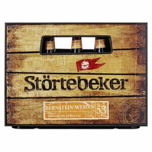 Störtebeker Pilsener Bier, Schwarzbier oder Bernstein Weizen 20 x 0,5 Liter