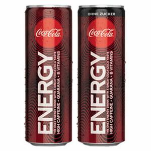 Coca Cola Energy* (*koffeinhaltig), versch. Sorten, jede 0,25-Liter-Dose