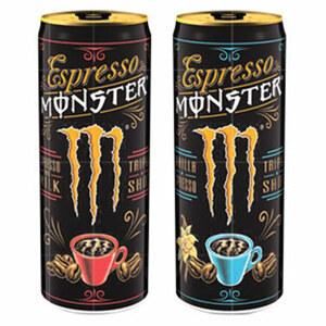 Espresso Monster and Milk* (*koffeinhaltig), versch. Sorten, jede 0,25-Liter-Dose