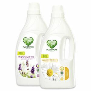 Planet Pure Bio Waschmittel 38 Waschaldungen, versch. Sorten, jede Flasche