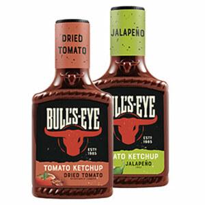 Bull's Eye Tomato Ketchup versch. Sorten, jede 425-ml-Flasche