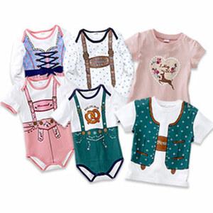 Baby- oder Kinder-T-Shirt, Größe Baby: 50/56 - 86/92, Größe Kind: 92 - 116, Baby-Body Größe: 50/56 - 86/92, je
